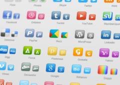 15+ Excellent Free Social Media Icon Collections