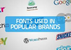25+ Fonts Used In Logos of Popular Brands