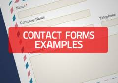 15+ Website Contact Forms Examples