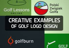 20+ Creative Examples of Golf Logo Design for Inspiration