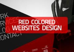 20+ Red Colored Websites Design for Inspiration