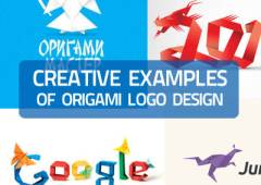 40+ Creative Examples of Origami Logo Design for Inspiration
