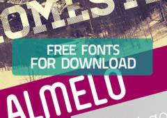 25 Free Fonts for Your Inspiration and Download