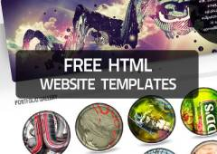 15+ Free HTML Website Templates and Layouts