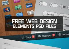 30+ Useful Free Web Design Elements PSD Files for Download