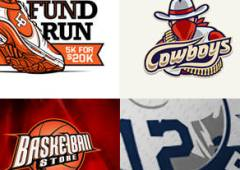 30+ Examples of Sport Logo Design for Inspiration