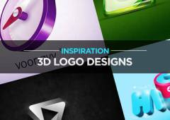 25 Examples of 3D Logo Design for Inspiration