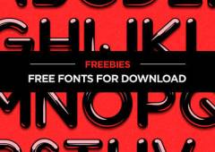20+ Beautiful and Fresh Free Fonts for Download