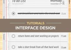 20 Interface Design Tutorials for Adobe Photoshop