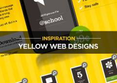 20 Yellow Web Designs for Inspiration