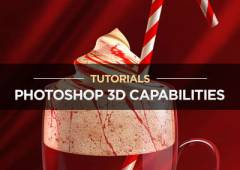 15+ Tutorials Using Photoshop's 3D Capabilities