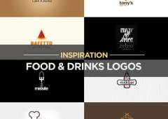 Drinks and Food Logo Design Examples for Inspiration