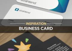 35 Fresh and Beautiful Business Card Inspirations