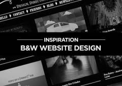 Fresh Black and White Websites for Inspiration