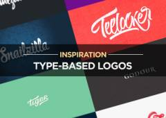 25+ Fresh Type-Based Logo Design Examples for Inspiration