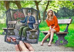 Amazing Examples of Pencil vs. Camera Art by Ben Heine
