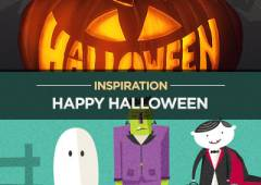 30+ Scary And Halloween Themed Graphics Inspiration