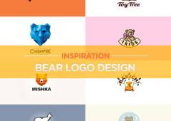 30+ Bear Logo Design Examples for Inspiration