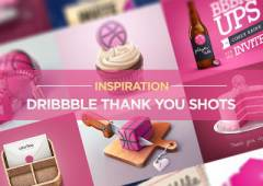 Dribbble Invitation Thanks Graphics for Inspiration