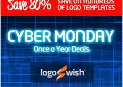 Cyber Monday Logo Templates Bundle by Logoswish [CLOSED]