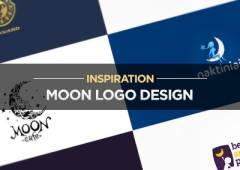 20+ Moon Logo Design Examples for Inspiration
