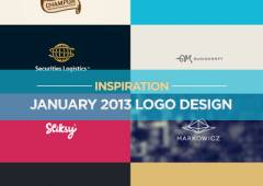 Logo Design Inspiration Most Beautiful Examples in January 2013