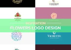 25 Bright Flower Logo Design Examples for Inspiration