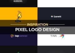 20 Art of Pixel Logo Design for Inspiration