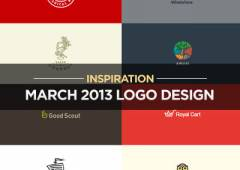 Logo Design Inspiration Most Beautiful Examples in March 2013