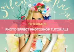 20+ Latest Free Photo Effect Photoshop Tutorials