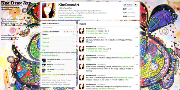 Twitter Background Layouts (11)