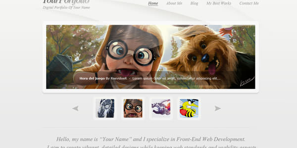 Website Layout Photoshop Tutorials (2)