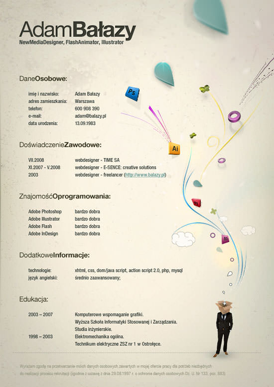 Creative Resume (CV) Designs (1)