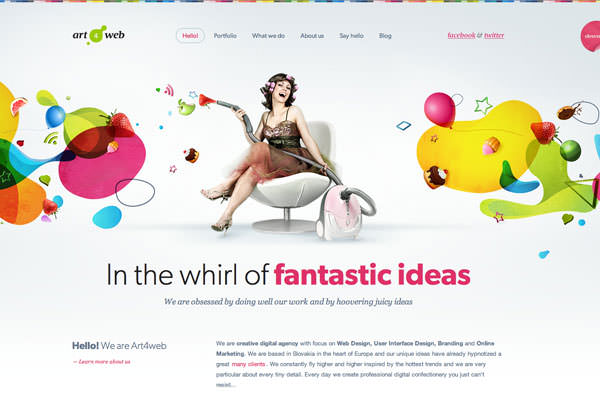 Clean and Light Web Designs (12)