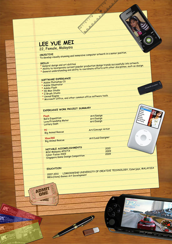 Creative Resume (CV) Designs (13)