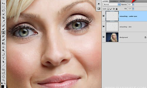 how to make everythign thicker in photoshop