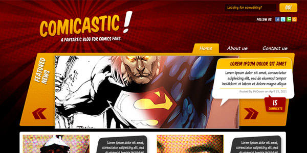 Website Layout Photoshop Tutorials (15)