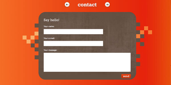 Contact Forms Examples (14)