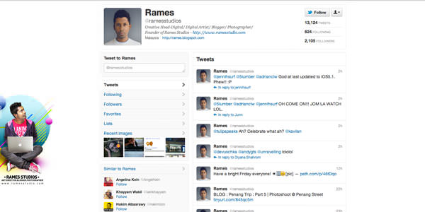 Twitter Background Layouts (17)