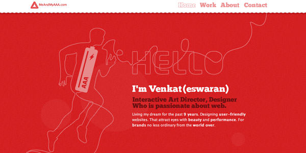 Red Colored Websites Design (20)