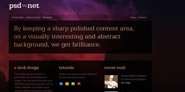 Website Layout Photoshop Tutorials (23)