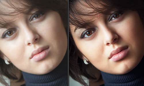 how to give professional retouch photoshop
