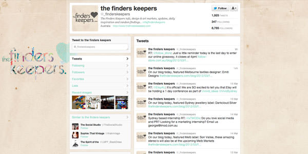 Twitter Background Layouts (25)