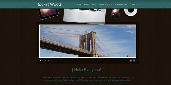 Free HTML Website Templates (2)