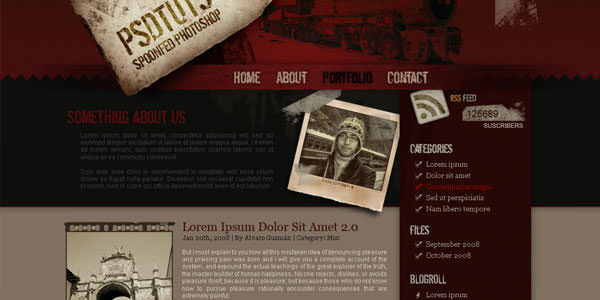 Website Layout Photoshop Tutorials (29)