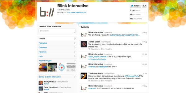 Twitter Background Layouts (4)