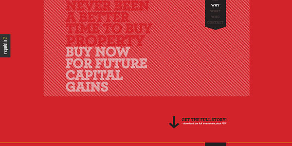 Red Colored Websites Design (3)