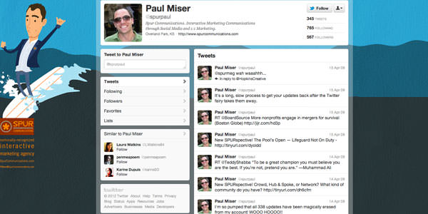 Twitter Background Layouts (5)