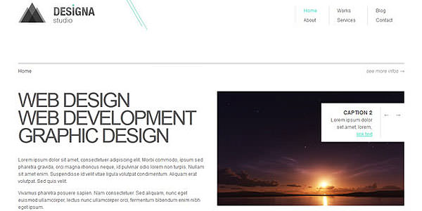 Free HTML Website Templates (4)