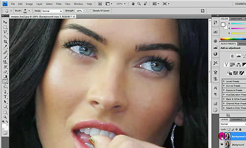 Beauty Retouching Photoshop Tutorials (6)